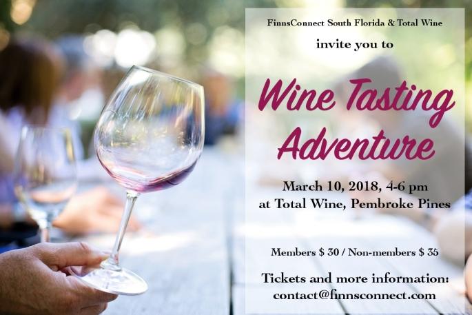 winetasting ad